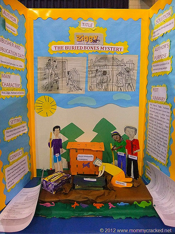 Examples Of Poster Board Ideas : Reading fair projects part