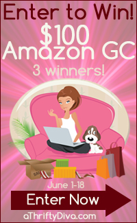 $300 Amazon Giveaway-  Ends 6/18