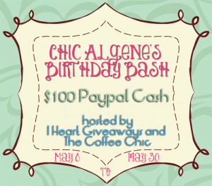 $100 Giveaway- Blogger Opportunity!