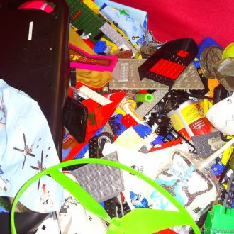 How To Organize Legos