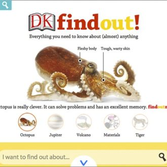 DK FindOut!- The Free Online Encyclopedia for Kids & Giveaway