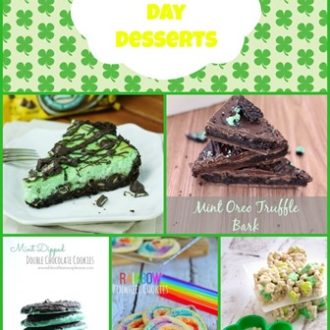 15 St. Patrick's Day Dessert Ideas