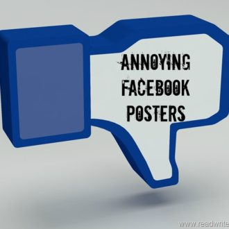 Annoying Facebook Posters