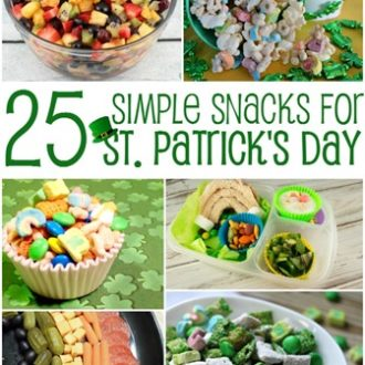 St. Patrick's Day Snacks That Are Easy to Make and Lots of Fun!