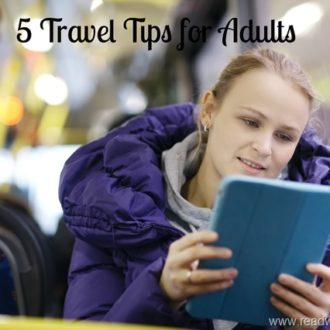 5 Travel Tips for Adults