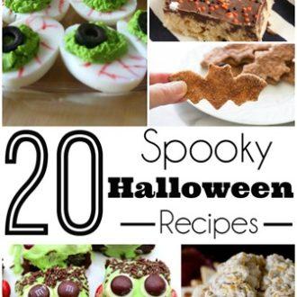 20 Spooky Halloween Recipes