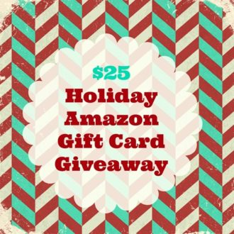 Holiday Amazon Gift Card Giveaway