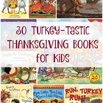 Turkey-Tastic Thanksgiving Books for Kids