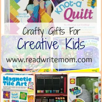 Crafty Gifts for Creative Kids- Craft Kits for All Ages