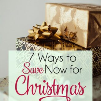 Save Money for Christmas – 7 Ways to Get Started Now