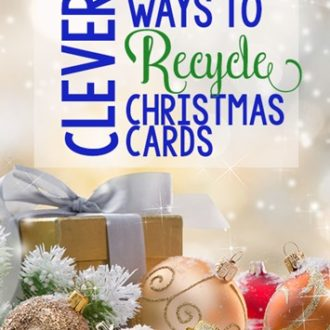 Ways to Recycle Christmas Cards- Clever Ideas to Keep Reusing Memories