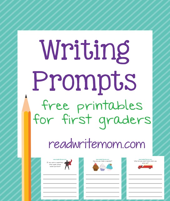 First Grade Writing Prompts - 8 Free Printable Pages