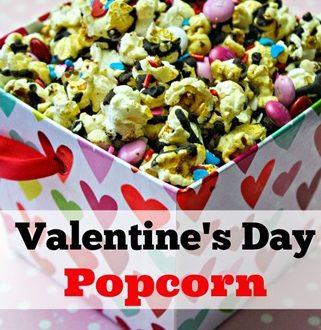 Valentine's Day Popcorn Recipe- Perfect Valentine's Day Snack