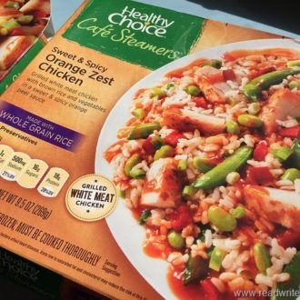 Quick Healthy Meals With Healthy Choice Café Steamers
