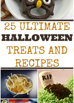 25 Ultimate Halloween Treats and Recipes- Fun Party Food