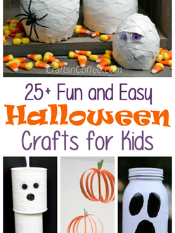 25 Fun and Easy Halloween Crafts for Kids