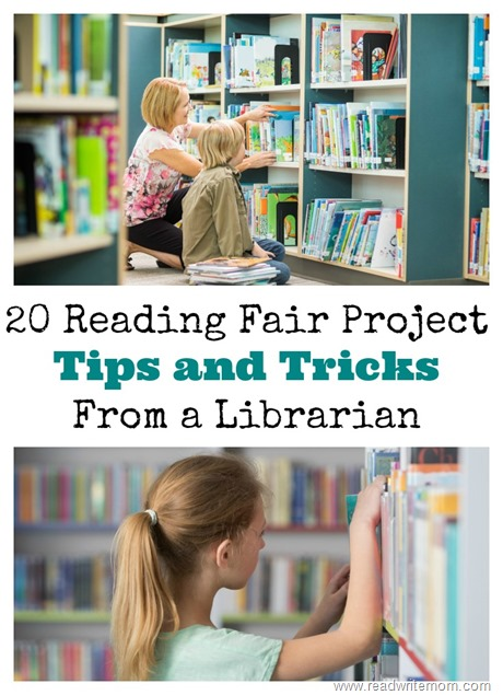 reading fair project tips and tricks