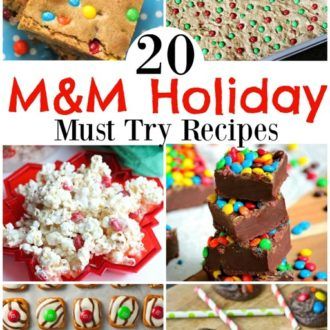 20 Holiday Recipes with M&M's- Bake Up Some Holiday Fun