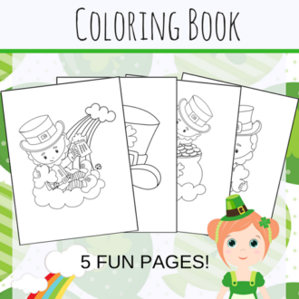 Free Printable St. Patrick's Day Coloring Pages