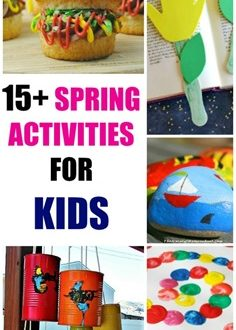 15+ Easy and Fun Spring Activities for Kids