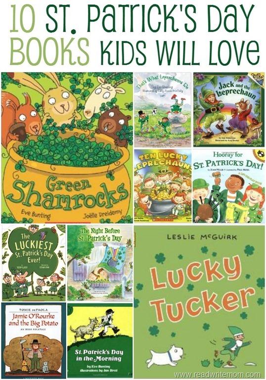 st patricks day books for kids