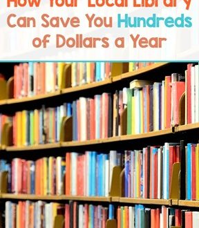 How Your Local Library Can Save You Hundreds Of Dollars A Year