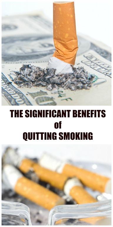 benefits of quitting smoking