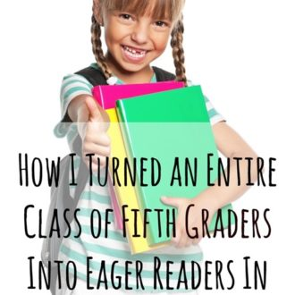 How I Turned an Entire Class Into Eager Readers in ONE DAY!