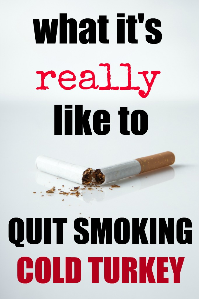 quit smoking cold turkey