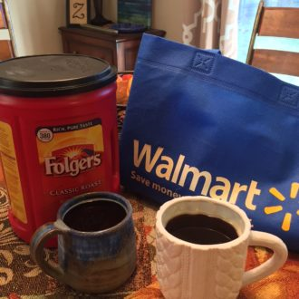Holiday Traditions and Sharing a Cup of Folgers Coffee