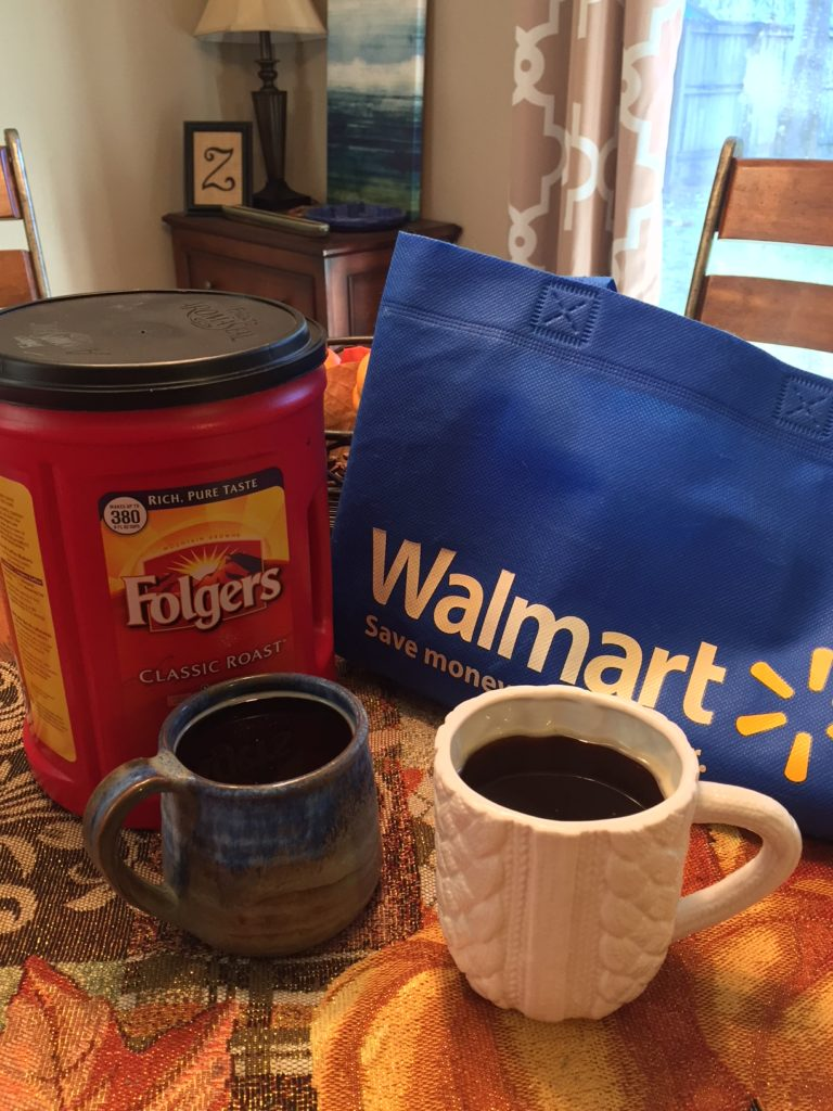 folgers share a cup