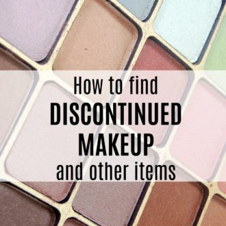 How to Find Discontinued Makeup and Other Items