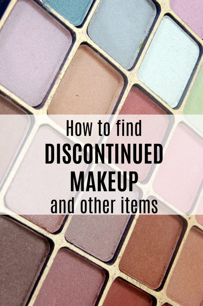 how to find discontinued makeup